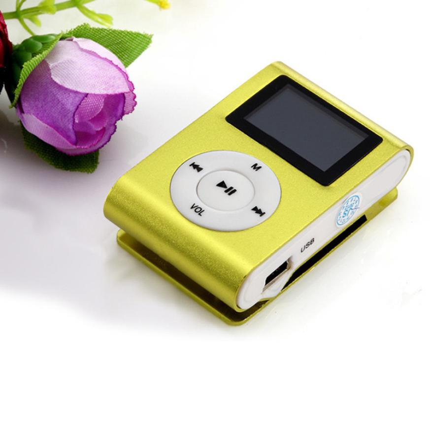 Hot selling Superior Mini USB Clip MP3 Player LCD Screen Support 32GB Micro SD TF Card FM Radio(China (Mainland))