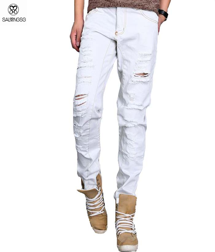 Popular Ripped Jeans for Men Size 42-Buy Cheap Ripped Jeans for