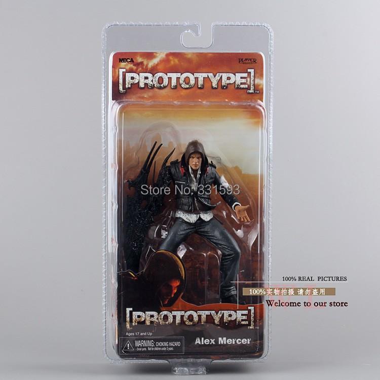 "Free NECA Prototype Alex Mercer PVC Action Figure Collection Model Toy 7""18CM MVFG114"