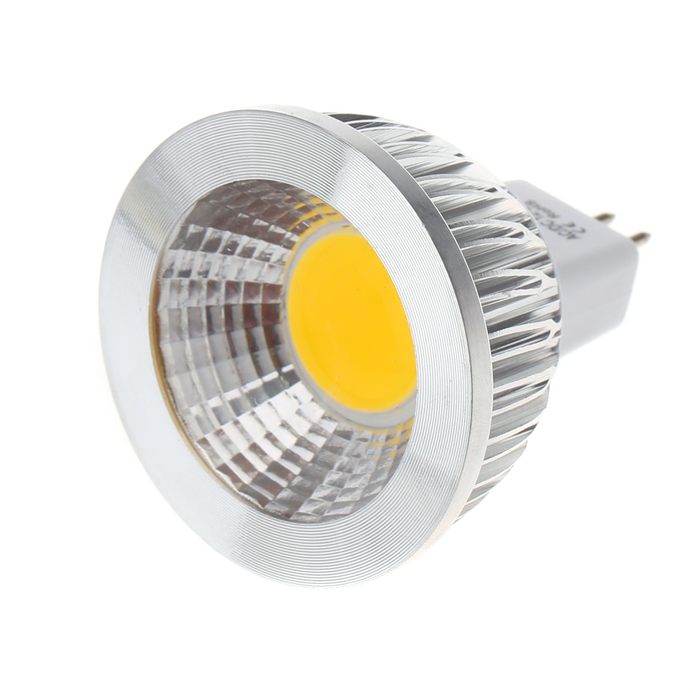 MR16 5W COB LED Spot Light Lamp Bulb High Power Energy Saving LED Spotlights Lampada Led DC/AC12V(China (Mainland))