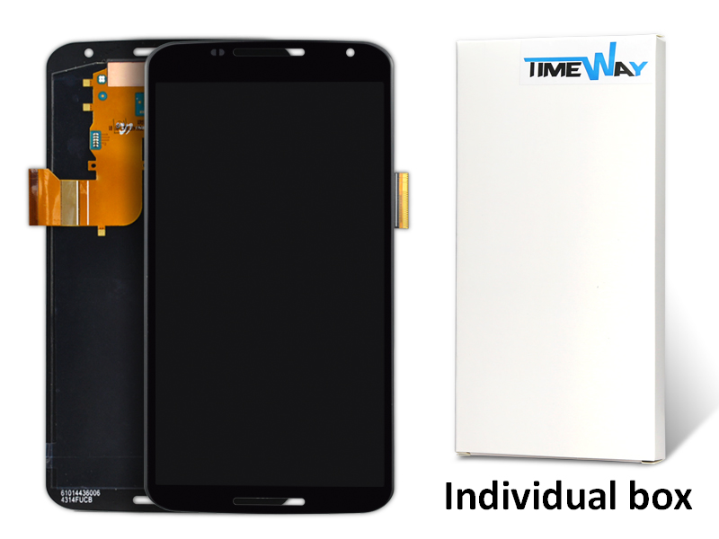 2pcs New Alibaba China For Motorola Nexus 6 Xt1100 Xt1103 Lcd Screen And Touch Screen Digitizer Phone Parts Free Shipping(China (Mainland))