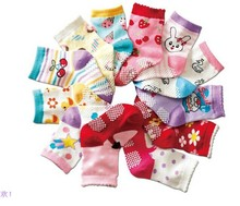 Free shipping ( 12 pairs/lot ) 100% cotton Baby socks rubber slip-resistant floor socks all for kids clothes and accessories1--3(China (Mainland))