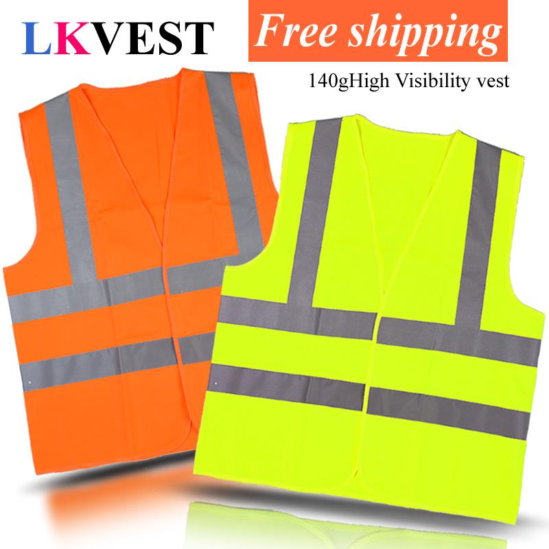 Светоотражающий жилет трафика санитарии безопасности рабочая одежда предоставляет защитную одежду / chaleco reflectante