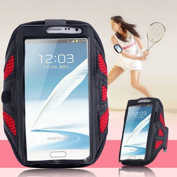 Breathable Waterproof Jogging SPORTS Armband for Samsung Galaxy Note 3/4/2 Out Door Phone Accessories For Cell Phone Arm Band(China (Mainland))