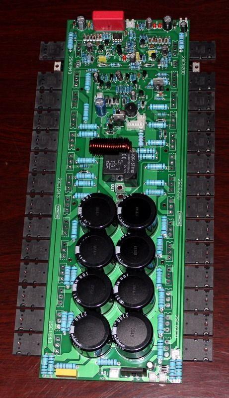 TTA1943/TTC5200 2SA940+2SC2073 1000w Amplifier for Stage 2700UF/100V*8(China (Mainland))