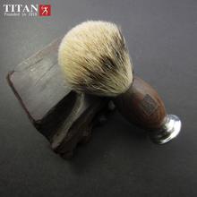 Men Shaving Brush Hand-made Badger Silvertip Brushes Pincel De Barbear Aluminum Handle Brocha De Afeitar Badger Hair Knot(China (Mainland))
