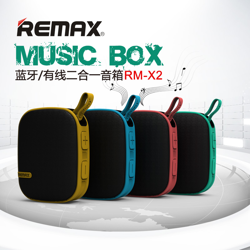Remax outside sport wireless bluetooth audio small speaker portable mini subwoofer mobile phone general(China (Mainland))