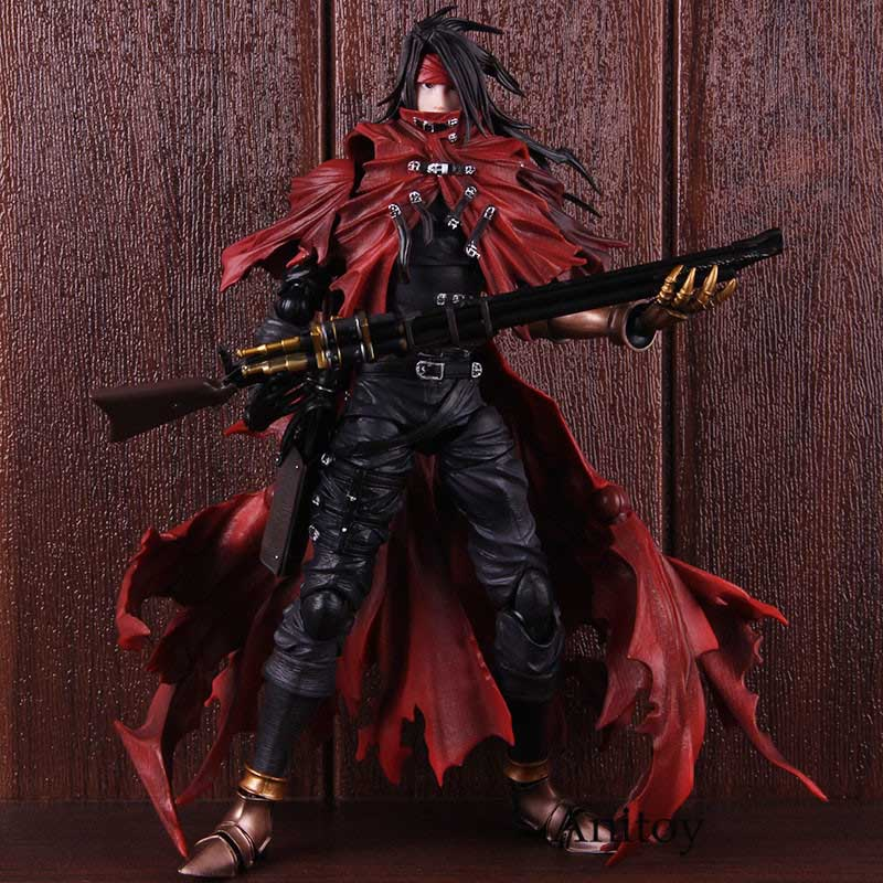 Play Arts Kai FINAL FANTASY 7 VII Vincent Action Figure 27cm China Ver IN BOX
