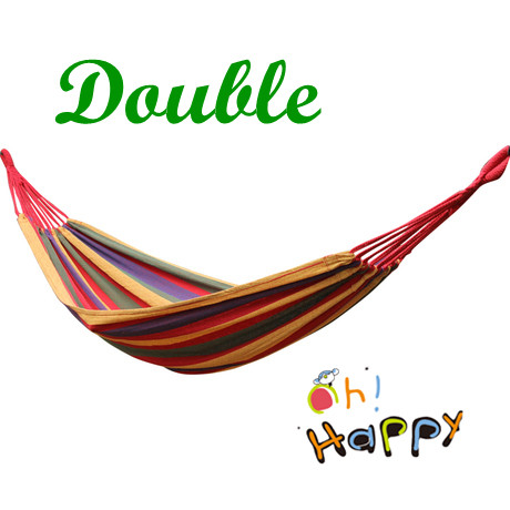 Гаджет  Outdoor Camping Hammock Double 200 * 150 CM Swing thick canvas Leisure Hammock Tourism Free Shipping None Мебель