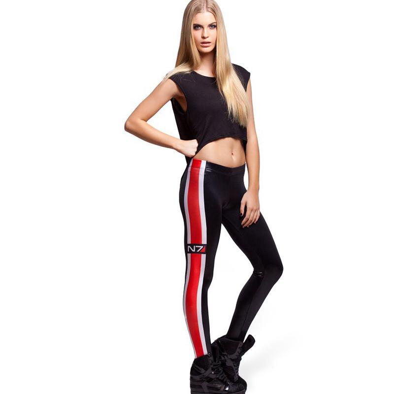 2016 Women Leggings Summer Printed Leggings Energy Effects Of printing Fashion Skinny Leggings Female(China (Mainland))