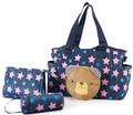 3pcs set Multifunctional Mummy Bag Maternity Handbag Baby Diaper Bags baby Tote Organizer bolsas de bebe