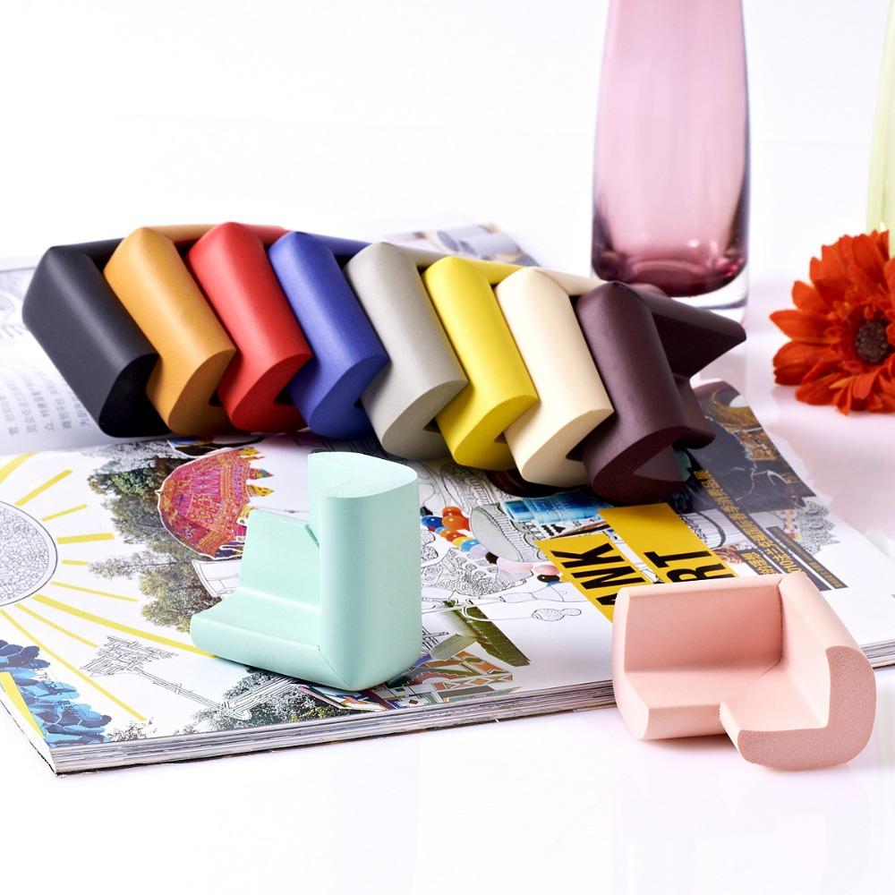 1 шт. BZJ г-образный прямоугольные поставки для безопасности детей защиты детей стол книжный шкаф чайный стол столкновения ребенка продукты
