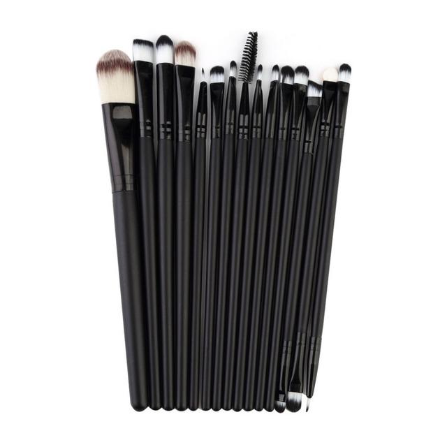 100% новый 15 шт./компл. макияж кисти комплект EДаhadow карандаш для глаз тушь инструменты ...