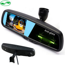 """HD1080P 4.3"""" Special Car DVR Mirror Monitor with Original Bracket, Auto Dimming Rearview Car Mirror Parking monitor.(China (Mainland))"""