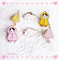 Europe United States jewelry wholesale Japan and South Korea style cute dog and cat animal brooche