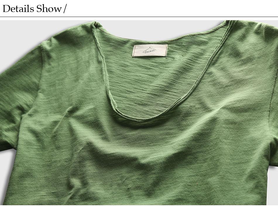 HTB1ezU5PXXXXXXFXpXXq6xXFXXXz - Men Basic T-Shirt Solid Cotton V Neck Slim Fit Male Fashion T Shirts Short Sleeve Top Tees 2017 Brand