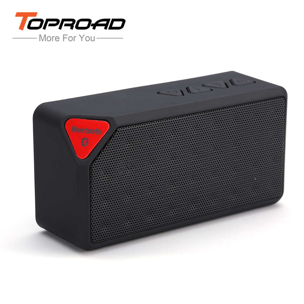 MINI Bluetooth Speaker X3 Fashion Style TF USB Wireless Portable Music Sound Box Subwoofer Loudspeakers with Mic Caixa de som(China (Mainland))