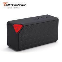 MINI Bluetooth Speaker X3 Fashion Style TF USB FM Wireless Portable Music Sound Box Subwoofer Loudspeakers with Mic Caixa de som