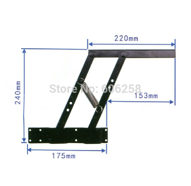 Furniture Hardware / Multifunction Tea Table Lift Stand coffee table Lifting Frame 1Pair(China (Mainland))