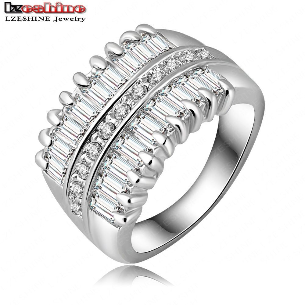 Crystal Ring Inlay Genuine SWA Element Ri HQ0293 In Rings From Jewelry