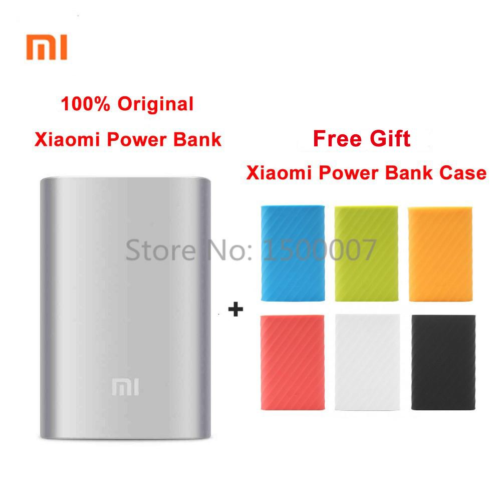 2015 Newest 100% Original Xiaomi power bank 10000 mAh external battery pack portable charger mobile Xiaomi powerbank(China (Mainland))