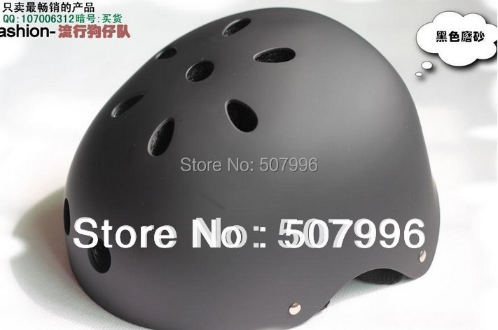 Free shipping Professional hip-hop boy helmet skateboard skating helmet bicycle helmet for kids and adults D-681(China (Mainland))