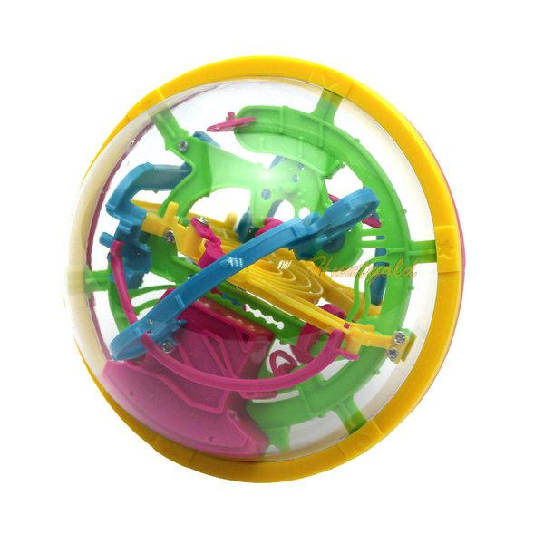 2015 New Arrivals 3D Magic Intellect Maze ball Puzzle Game Educations for Kids IQ Trainer(China (Mainland))
