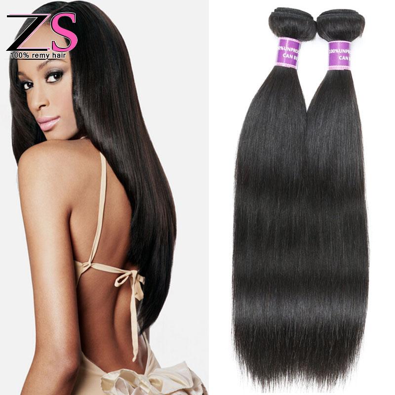 7a Brazilian Virgin Hair Straight 3 pcs lot Rosa Hair Products Unprocessed Virgin Human Hair Brazilian Straight Hair Weave  <br><br>Aliexpress