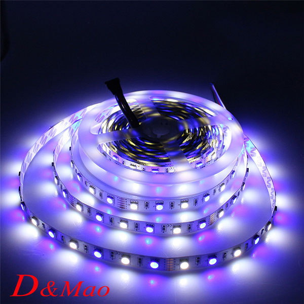 2835 Led Strip Non-waterproof Single Color Only Led Strips 5m SMD3825 LED Ribbon Tape RGB/White/Warm White(China (Mainland))