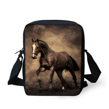 2016 Famous Designer 3D Crazy Horse Men Messenger Bags High Quality Man Mini Crossbody Bags Brand Casual Ladies Small Travel Bag(China (Mainland))