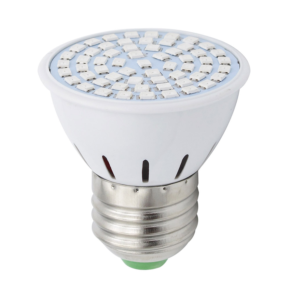 Full Spectrum E27 Bulb AC 220V 60SMD Indoor Plants Lamp LED Grow Light Replace 12W CFL For Flower Seedling Hydroponic System(China (Mainland))
