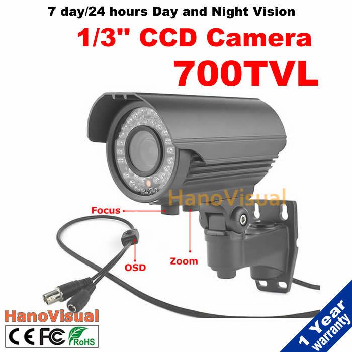 42pcs IR Leds 2.8-12mm Varifocal Lens CCTV Camera 700TVL Effio-E CCD CCTV Camera 960H Night Vision IR Surveillance Camera<br><br>Aliexpress