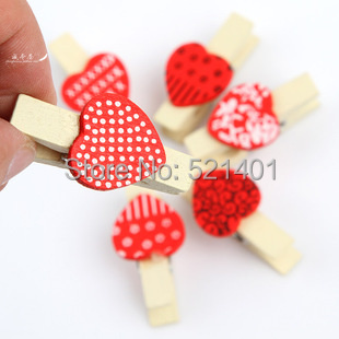 2015 Time-limited Real Folk Art Europe Hobby Wood Craft Korean Decorative Wooden Clip Big Wedding Small Food Sealing 6 Intotb001(China (Mainland))