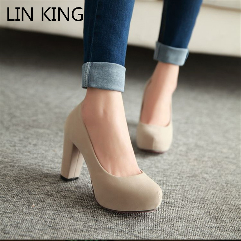 Popular Nude Thick Heels-Buy Cheap Nude Thick Heels lots from ...