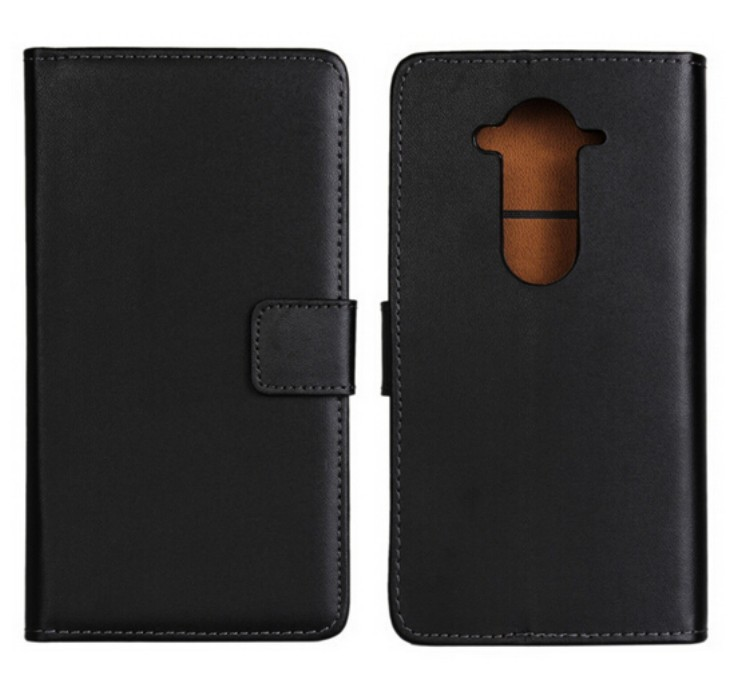 Black High Quality Genuine Leather Wallet Case For Acer Liquid E3 E380 with Book Stand Style Card Holder Phone Bag Free(China (Mainland))