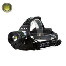 CREE XM-L T6  3800lm  3 Modes Zoom Headlamp Head light flashlight headlamp miner's lamp  Portable lighting lamp head(China (Mainland))