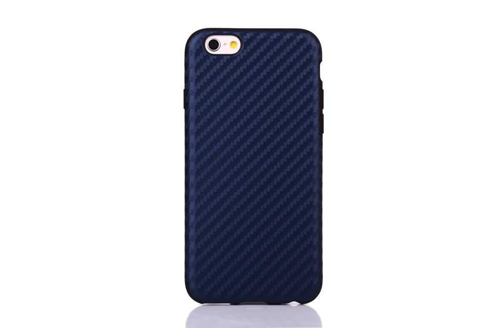 """Particularly good-looking!!!A15 Free Shipping!Fashion Carbon fiber pattern Protective sleeve phone Case For iPhone6 4.7""""(China (Mainland))"""