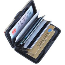 Buy Business Waterproof Aluminum ID Credit Card Mini Wallet Holder Pocket Case Box Card ID Holders Hot High 47 for $2.64 in AliExpress store