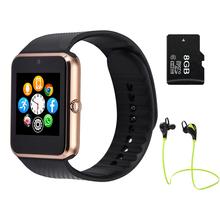 mehrsprachig! Smart Watch GT08 Clock Sync Notifier Unterstützung Sim-Karte Bluetooth für Apple iphone Android Phone Smartwatch Watch (China (Festland))
