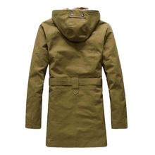 2015 High Quality Fleece Corduroy Wadded Jacket Men Cotton Filling Thickening Wadded Coat Jacket Military Parka