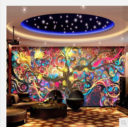 Classic Europe Larger Mural 3D Wall Paper Wallpaper Straw for Living Room 3D Geometry TV Background Wall Decor Sample 100*70cm w(China (Mainland))