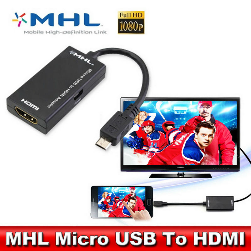MHL Micro USB hub to HDMI Cable Cabo for Sony Xperia Z3 telefonos moviles HDTV Adapter Mobile phone to TV connector(China (Mainland))
