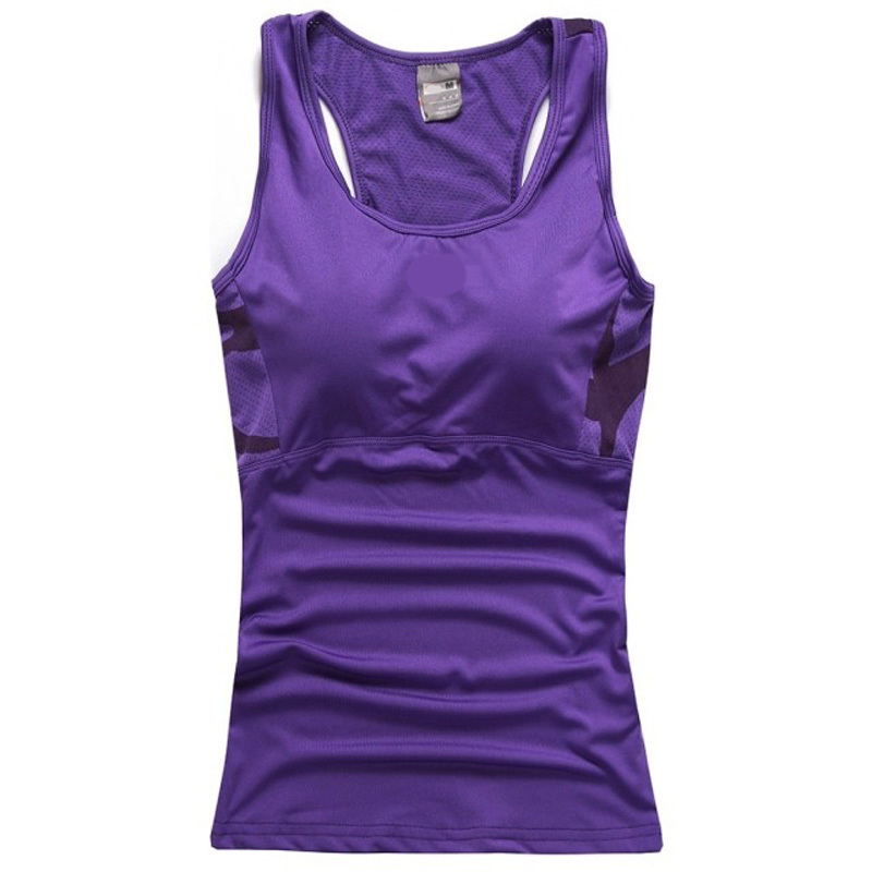Lady's fitness quick dry sport shirt women sport top gym jogging vest , fitness yoga shirt running badminton top for women(China (Mainland))