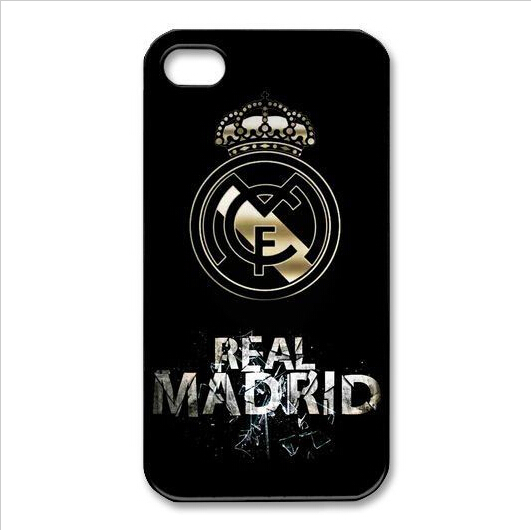 Real madrid logo Unique Custom Case For iphone 4/4s 5/5s 5c 6/6plus iPod touch 4 5 Samsung s3 s4 s5 mini Note 2 3 4(China (Mainland))