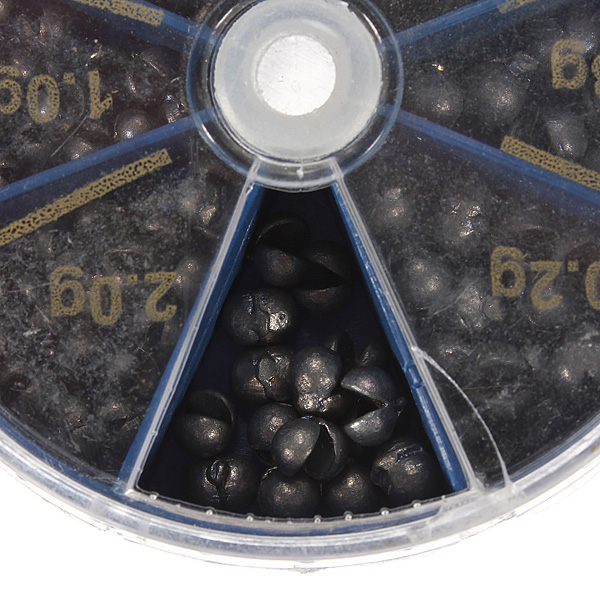 Hot 1 box Fishing Supplies Of Lead Explosion Models Selling Sinkers 0 2g 0 3g 0