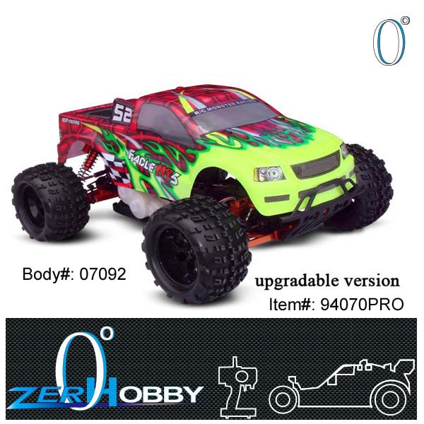 RC CAR HSP FACLE NT 5 GAS TRUCK 1/5 SCALE 4X4 OFF ROAD RTR 32CC ENGINE (item no. 94070PRO)(China (Mainland))