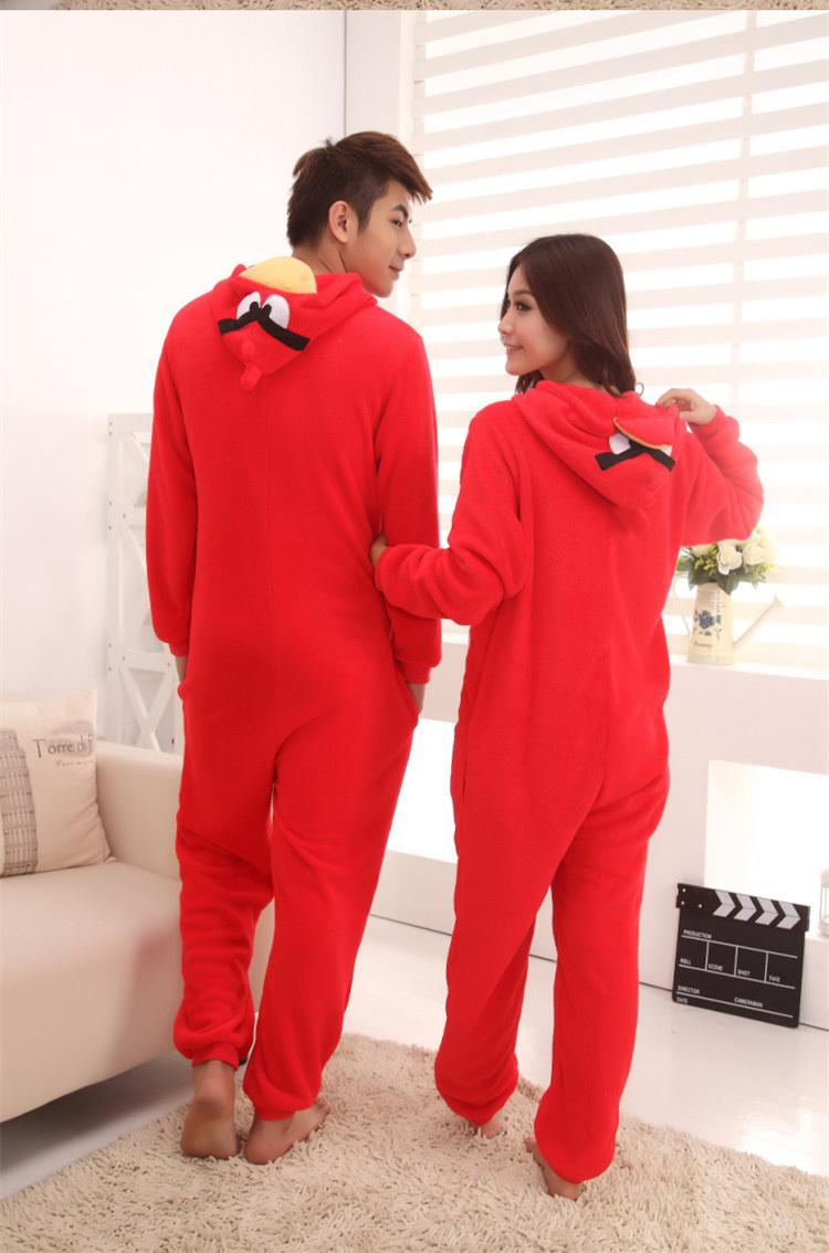 New Japan Animal Sleepwear bird Pajamas Fashion Fresh Fleece Casual Long Sleeve Winter Pyjamas Cosplay Costume(China (Mainland))