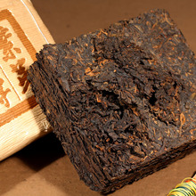 Cooked tea brick cellaring 500 pu'er tea PU er cooked tea purple bud