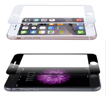 Full Cover silk Tempered Glass Screen Protector for 6s Plus Glass Protective Film For iphone 6 6s free shipping +Clean Tools