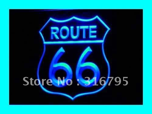 i371-b Historic Route 66 Mother Road LED Neon Light Sign NR(China (Mainland))